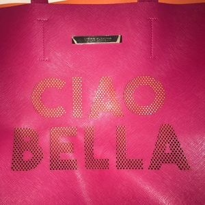"""Vince Camuto """"Ciao Bella"""" limited edition tote bag"""